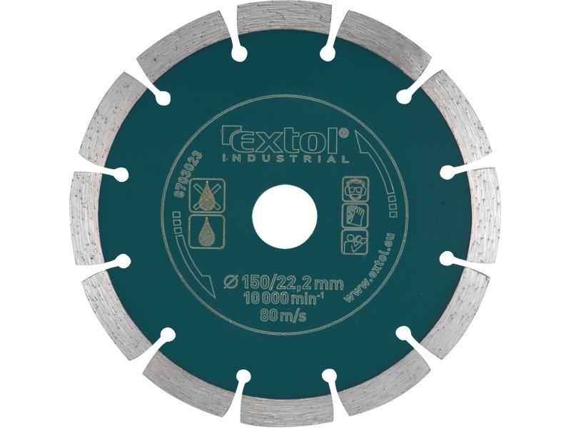 Extol Industrial kotúč rezný segmentový 230mm GrabCut 8703035