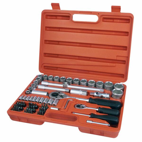 Extol Premium sada nástrčných kľúčov 75-dielna 6521