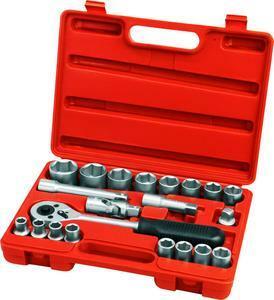 Extol Premium sada nástrčných kľúčov 21-dielna 6523