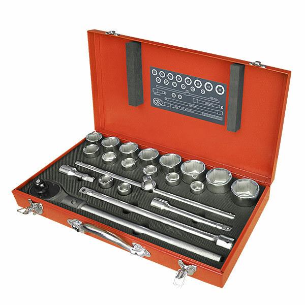Extol Premium sada nástrčných kľúčov 22-dielna 8818350