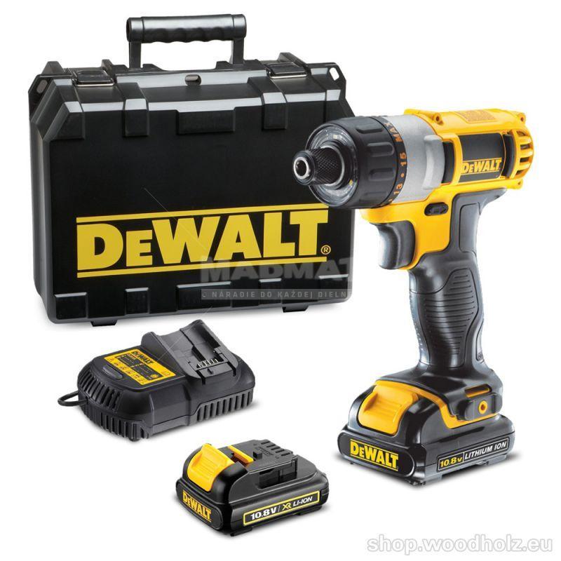 DeWalt DCF610C2 aku skrutkovač 10,8 V