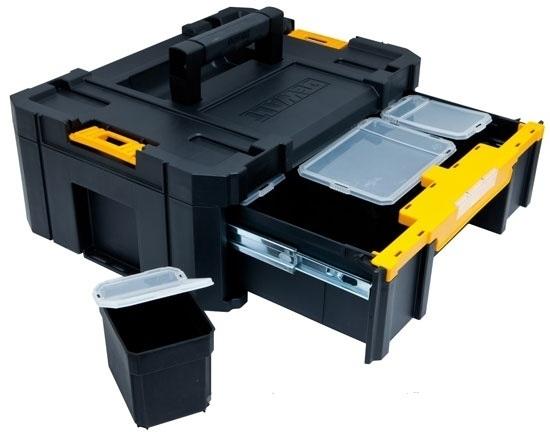 DeWalt TSTAK III stohovací úložný systém DWST1-70705 - Kufre a boxy na náradie | MADMAT.sk