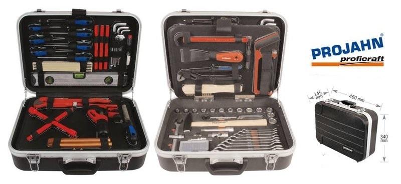 9037a945d59a1 Projahn kufrík s náradím pre inštalatérov 95-dielny 8685