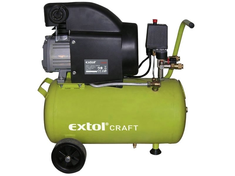 Extol Craft olejový kompresor 24l 418200