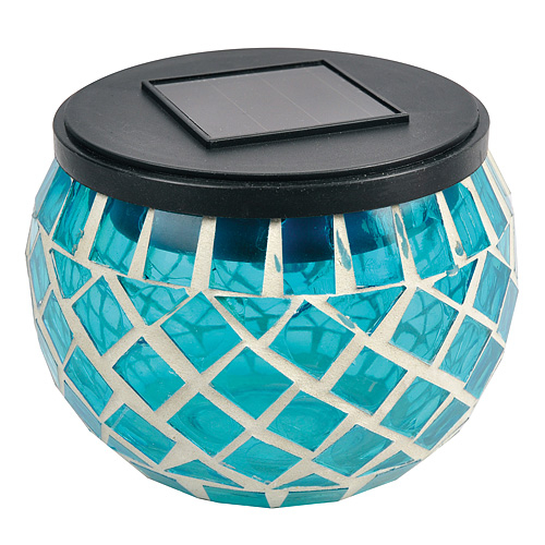 Lampa Solar 74077 MosaicJar, 78 mm, 2x Led