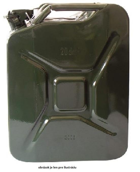 c839b7c91c445 Kanister 20 l plechový na PHM - Vedrá, nádoby, kanistre   MADMAT.sk