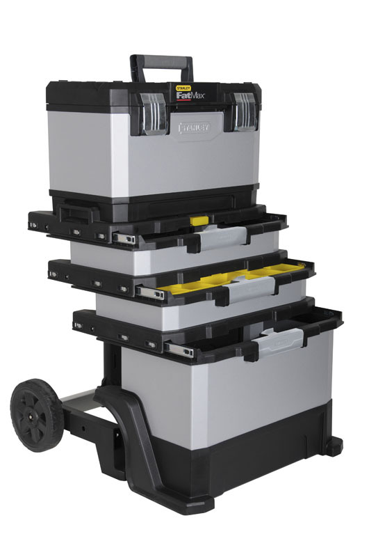 180ec8277b048 Stanley FatMax kovoplastový pojazdný montážny box 1-95-622 - Kufre a ...
