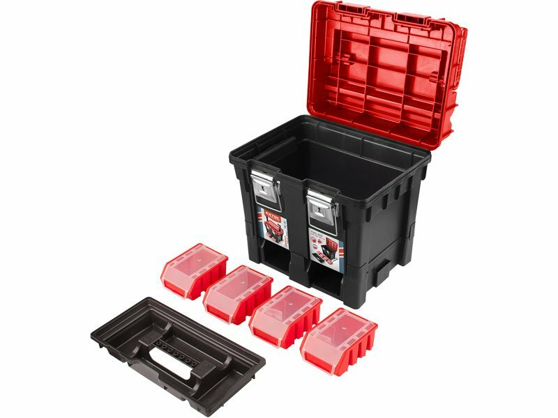 c5e8279c94046 Extol Premium kufor na náradie plastový 8856083 - Kufre a boxy na ...
