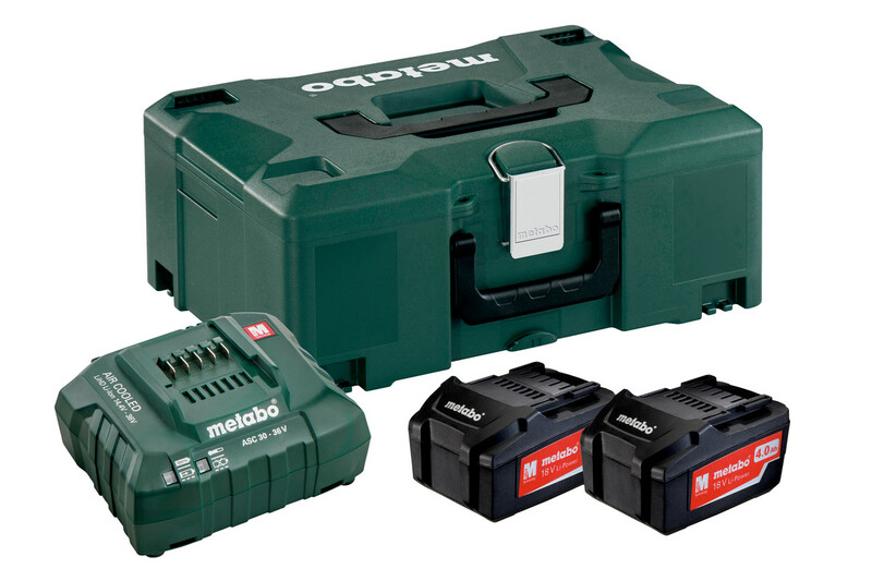 Metabo Basis-Set 2 x 4.0 Ah + Metaloc 685064000