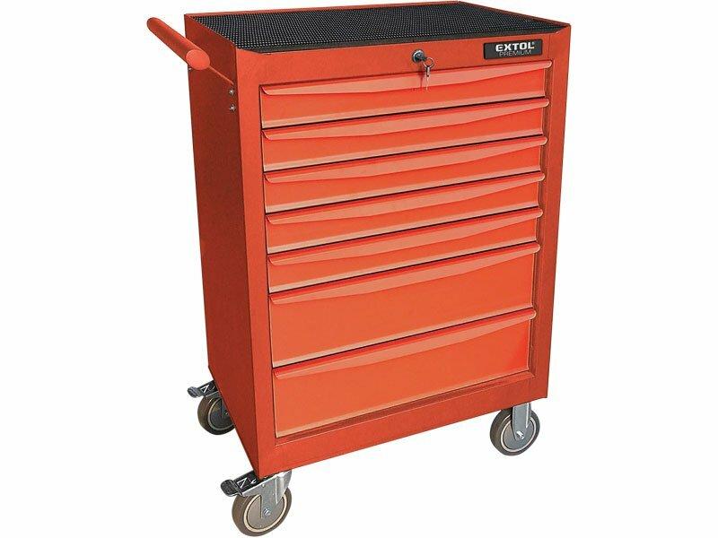 ad0477374b482 Extol Premium dielenský vozík na náradie, 7 zásuviek 8856050 ...