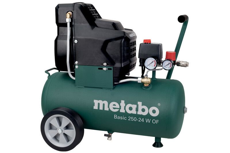 Metabo Basic 250-24 W OF bezolejový kompresor 601532000
