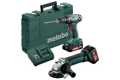 Metabo Combo Set BS 18 + W 18 LTX 125, 685082000