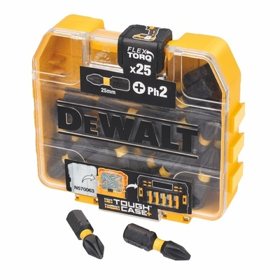 DeWalt torzný bit Ph2 25mm 25ks, DT70555T