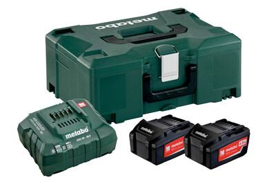 Metabo Basic-Set 2 x 4.0 Ah + Metaloc 685064000
