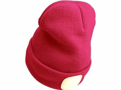 Extol Light čiapka s čelovkou LED ružová 43193