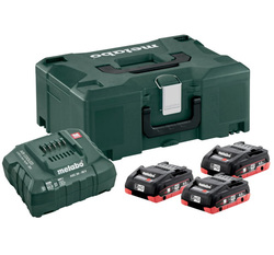 Metabo Basis-Set 3 x LiHD 4.0 Ah + Metaloc 685133000