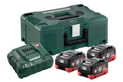 Metabo Basis-Set 3 x LiHD 5,5 Ah + Metaloc 685069000