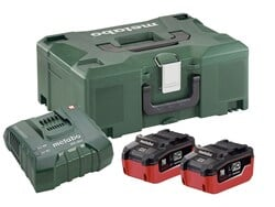 Metabo Basis-Set 2 x LiHD 8,0 Ah + Metaloc 685131000